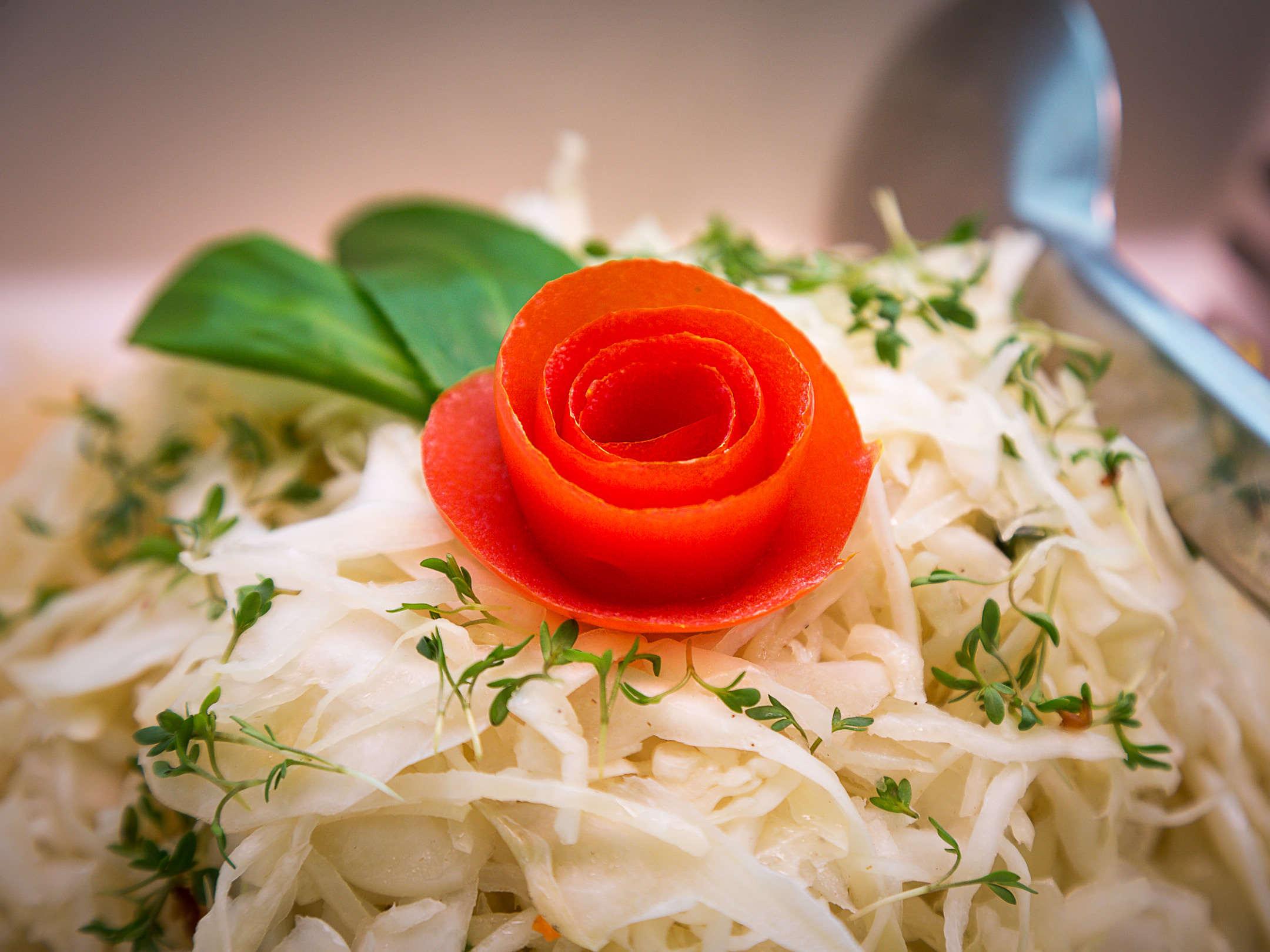 erlesenes Salatbuffet