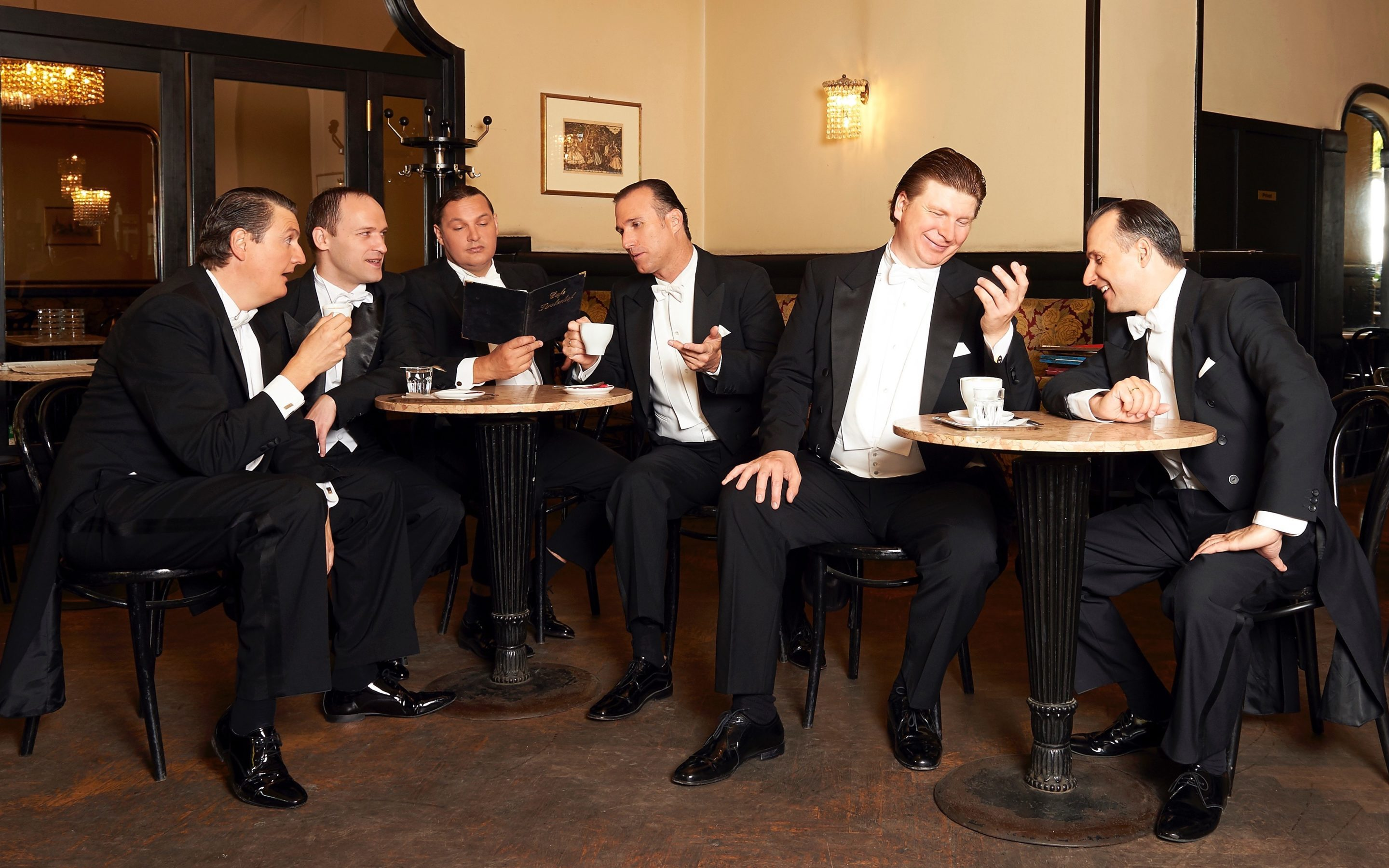 """In the mood"" – Wiener Comedian Harmonists"