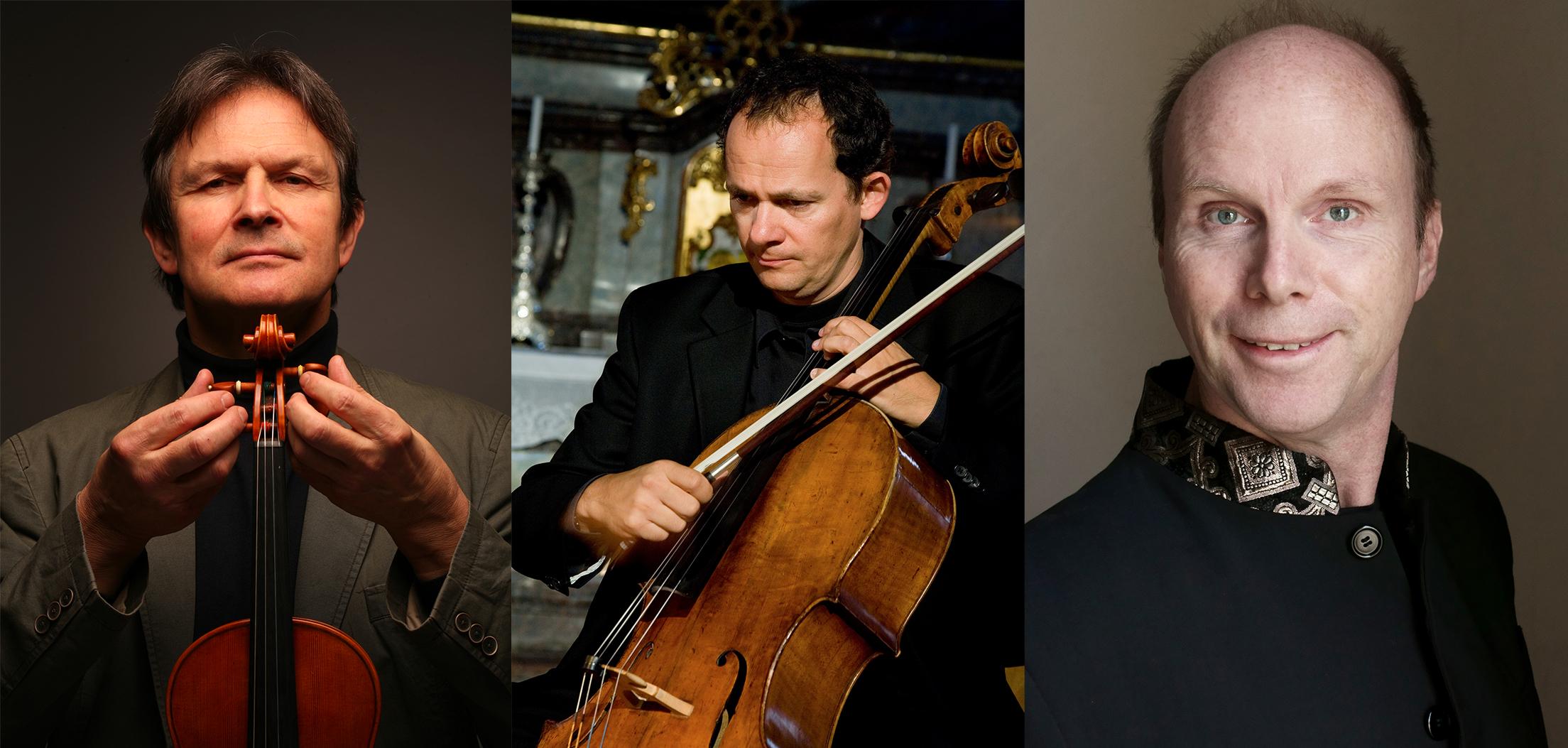 """An der Donau""– Ernst Kovacic, Reinhard Latzko, Thomas Selditz"