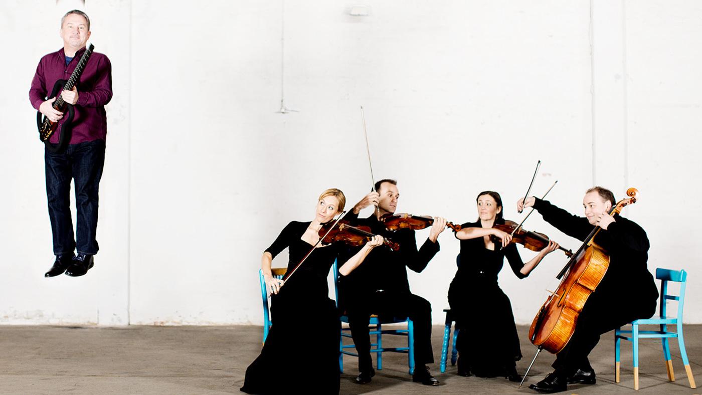 """""""Eine Begegnung"""" – Adamas Quartett mit Helmut Jasbar"""